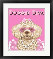 Framed Doggie Diva