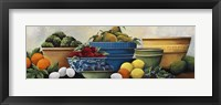 Framed Fruit Bowls
