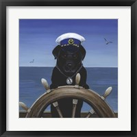 Framed Captian Of Your Ship