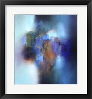Framed September blue