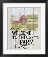 Framed Farm Signs A