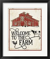 Framed Farm Signs C
