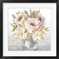 Beautiful Floral Bouquet A Framed Print