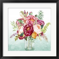 Beautiful Floral Bouquet B Framed Print