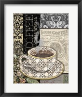 Lion Coffee B Framed Print
