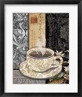 Lion Coffee C Framed Print