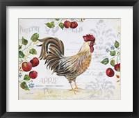 Framed Seasonal Rooster 10