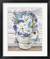 Bouquets of Inspiration I Framed Print