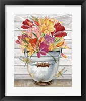 Bouquets of Inspiration J Framed Print
