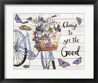 Bicycle Inspirations D Framed Print
