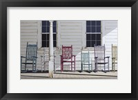 Framed Rocking Chair Family