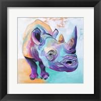 Framed Rhino - Fi