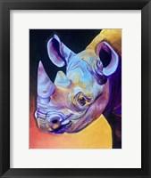 Framed Rhino - Suzi
