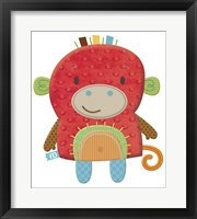 Framed FuddieDuds Monkey