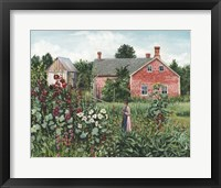 Framed Summer Blooms