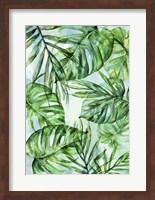 Framed Botanica Exotica with Background
