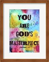 Framed God's Masterpiece