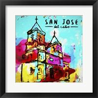 Framed San Jose Del Cabo