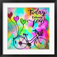 Framed Today I Choose Joy