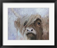 Framed Scottish Highland Cutie