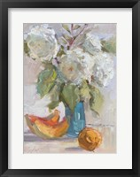 Framed Hydrangea and Cantelope