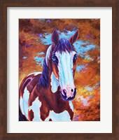 Framed Medicine Horse