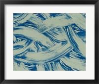 Framed Textures in Blue I