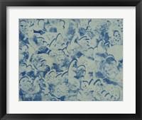 Framed Textures in Blue II