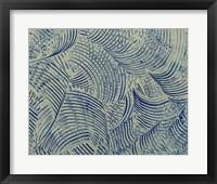 Framed Textures in Blue V