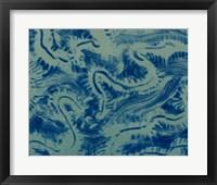 Framed Textures in Blue VII