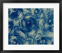 Framed Textures in Blue VIII