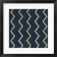 Framed Indigo Geometrics II