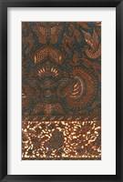 Framed Indonesian Batik IV