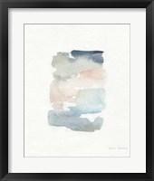 Framed Sea Glass Color Studies II