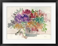 Framed Mix Flowers I