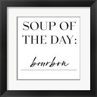 Framed Soup du Jour I