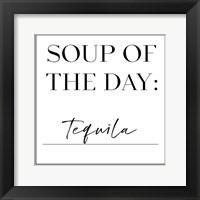 Framed Soup du Jour III