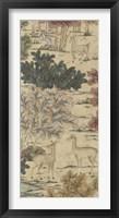 Framed Gosford Triptych III