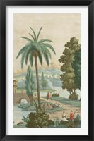 Framed Palm Paysage I
