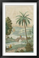 Framed Palm Paysage II