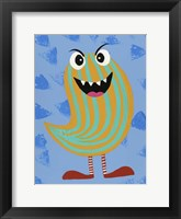 Framed Happy Creatures IX