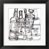 Framed Whiskey Wednesdays I