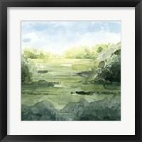 Framed Summer Strata II