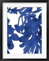 Framed Azure Silhouette I