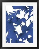 Framed Azure Silhouette II