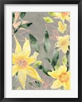 Framed Narcissus Fresco I