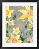 Framed Narcissus Fresco II