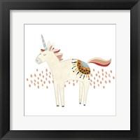 Framed Hipster Unicorns I