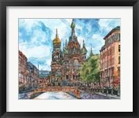 Framed Russia Temple II