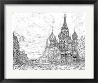 Framed Russia in Black & White I